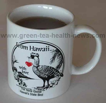 Hawaiian tea cup