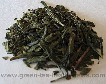 Cherry bancha green tea