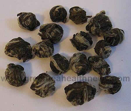 Jasmine dragon phoenix pearls tea