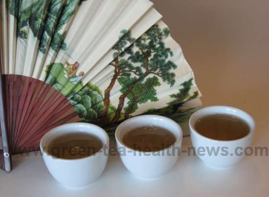 green tea caffeine content depends on chosen manufacturing process