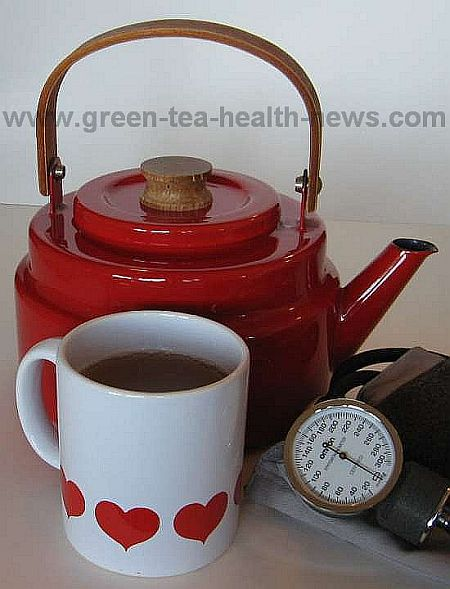 green tea high blood pressure