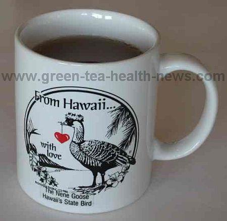 Hawaiian tea cup