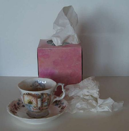childhood influenza green tea research