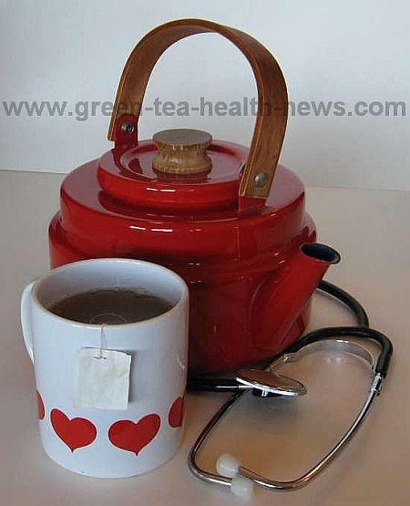 green tea high cholesterol